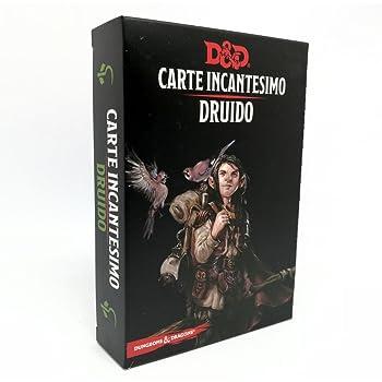 ITALIANO D/&D Dungeons /& Dragons 5 edizione Carte Incantesimo PALADINO