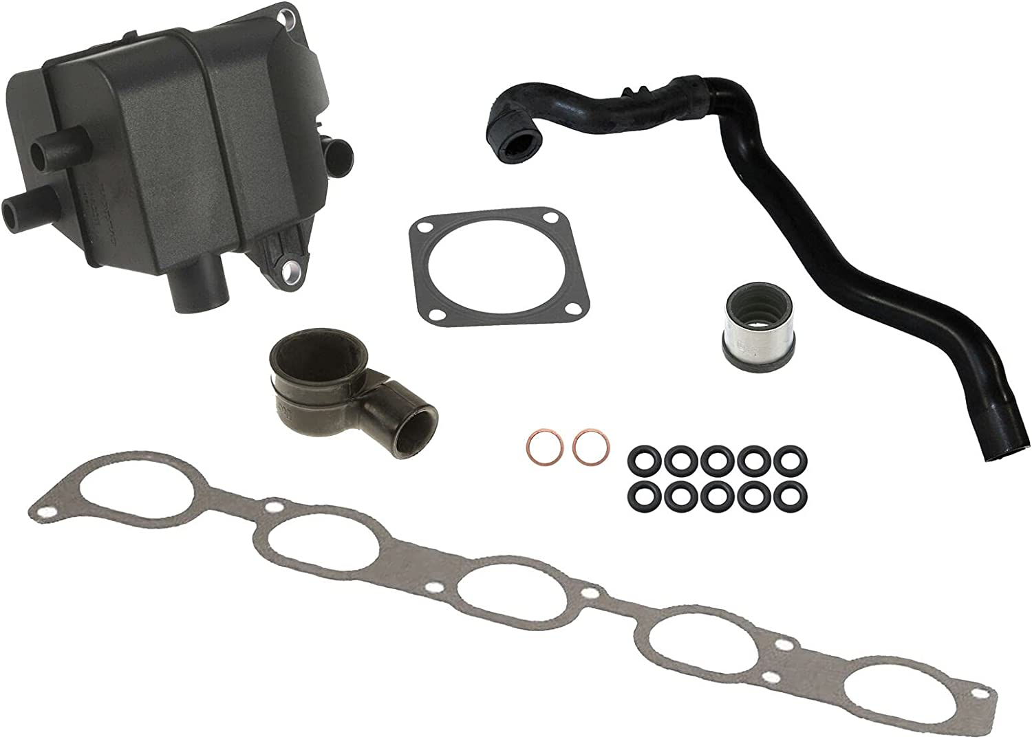 PCV Breather System kit Compatible with From Engine Serial # 313