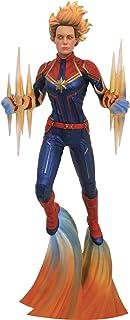 DIAMOND SELECT TOYS Marvel Gallery: Captain Marvel (Binary Power Movie Version) PVC Figure, Multicolor, 11 inches