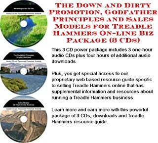 The Down and Dirty Promotion, Godfather Principles and Sales Models for Treadle Hammers On-line Biz Package (3 CDs)