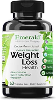Emerald Laboratories - Weight Loss Health - with Green Coffee Bean Extract, Meratrim, and Konjac Root - Helps Reduce Body ...