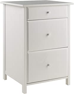 Winsome Wood 10321 Delta File Cabinet White Home Office