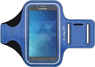 J&D Armband Compatible for Galaxy A10e/Galaxy J7 2017/J7 V/J7 Perx/J7 Sky Pro Armband, Sports Armband with Key Holder Slot for Samsung Galaxy A10e Running Armband, Earphone Connection While Workout