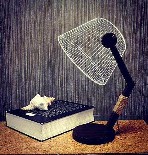 3D Wood Home Decor Office Gadget Gift Lamp MT302