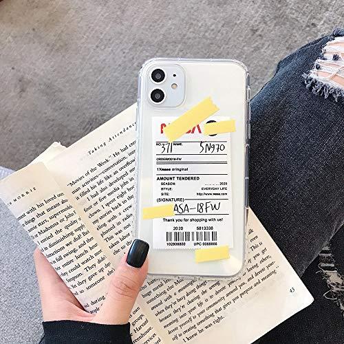 HNZZ Tmrtcgy EE.UU. Moda Marca Astronauta Funda para iPhone XS 12 Mini 11 Pro MAX 7 8 Plus X XR INS Etiqueta de Lujo Silicona Suave Cubierta Coque (Color : 3, Size : Iphone7 8)