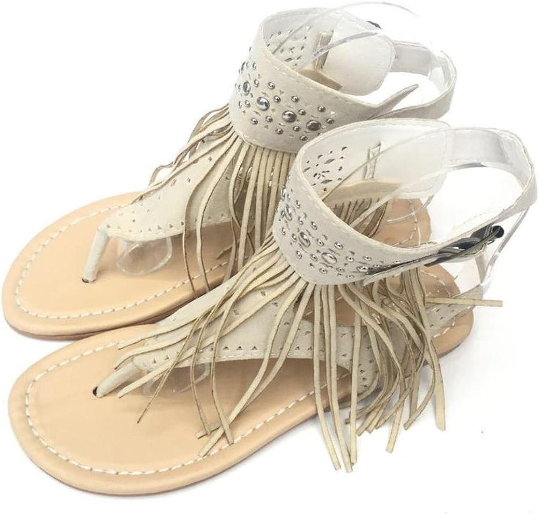 Women Sandals Fashion Tassel Summer shoes Women New Flat Sandals