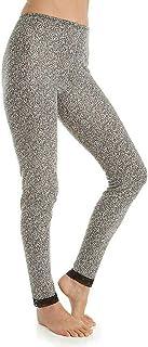 Cuddl Duds Women's Soft Comfort Original Fit Leggings W/Lace Edge S