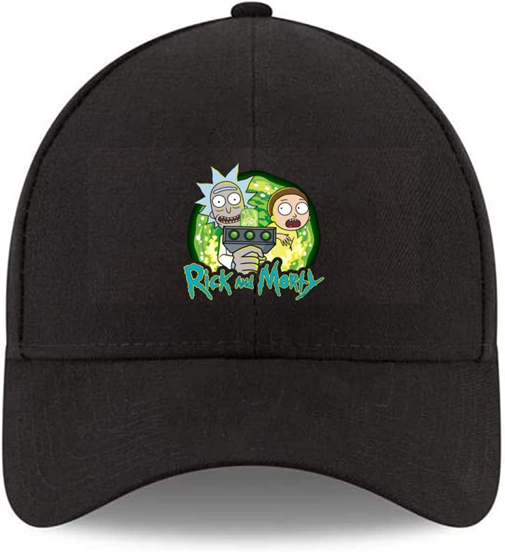 Rick and Morty Rick & Morty Unisex Adjustable Stylish Cool Casual Hat Baseball Cap