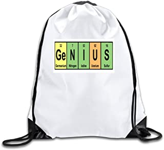SSEE Custom We Are Genius Personalized Adult Bag White