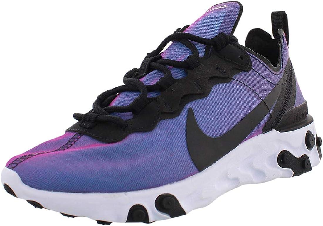 riega la flor el centro comercial Clancy  Amazon.com | Nike Women's React Element 55 Running Shoe | Road Running