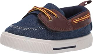Carter's Boys' Cosmo Light Weight Hook and Loop Casual Boat Shoe Sneaker
