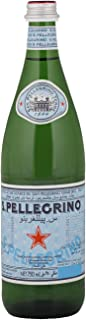 San Pellegrino Glass Sparkling Water Bottle - 750ml