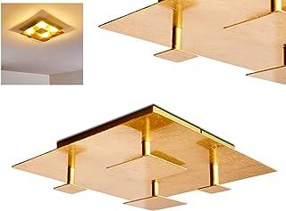 Amazon plafonnier doré