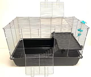 Large 2-Level Universal Small Animal Home Critter Habitat Cage for Wide Variety Exotics Animal Hamster Rat Mice Mouse Gerbil Guinea Pig Chinchillas Ferret