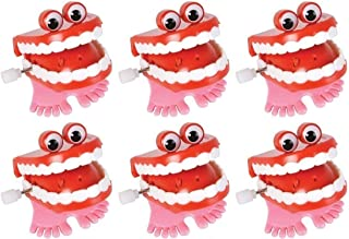 Wind Up Chatter Teeth with Eyes - 12 pack