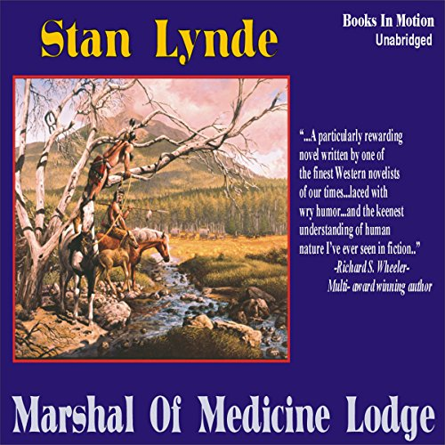Marshal of Medicine Lodge audiobook cover art