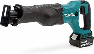 Makita DJR186RTE 18V Li-ion LXT Reciprocating Saw Complete with 2 x 5.0 Ah Batteries and Charger Supplied in a Makpac Case