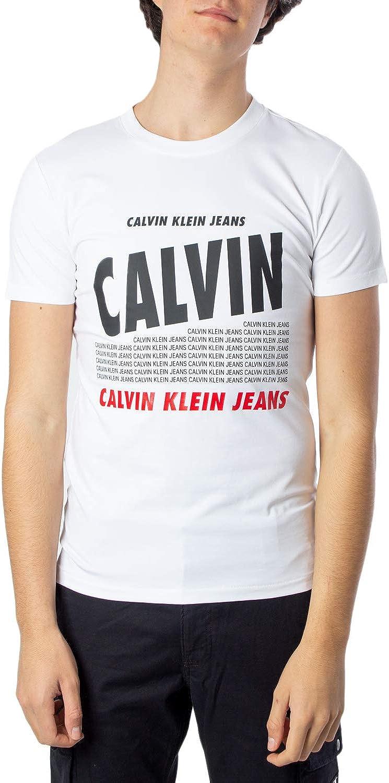Calvin Klein Calvin Band Slim tee Camisa para Hombre