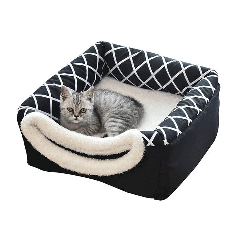 フォーク九時四十五分アンソロジー[Rrapo MaiTak] ペットハウス ベッド 小型犬猫用 ドーム型 寝袋 寝床 寝具 クッション 滑り止め 多機能 2WAY 折りたたみ ふわふわ 暖かい ぐっすり眠れる 洗える 可愛い ペット用 おしゃれ 両用(2#)