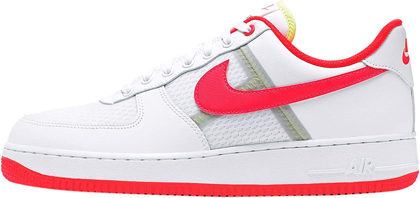 Nike Air Force 1 '07 LV8 1 Sneakers Bianco Rosso Sneakers (45.5 ...