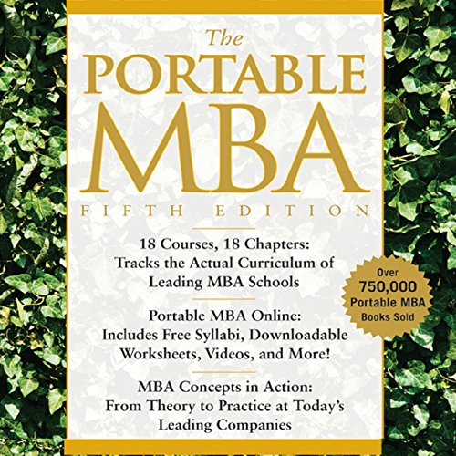 The Portable MBA audiobook cover art