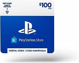 $100 PlayStation Store Gift Card - CANADA [Digital Code]