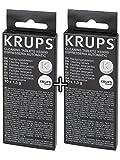 Krups XS3000 Pastillas de limpieza, 2 unidades