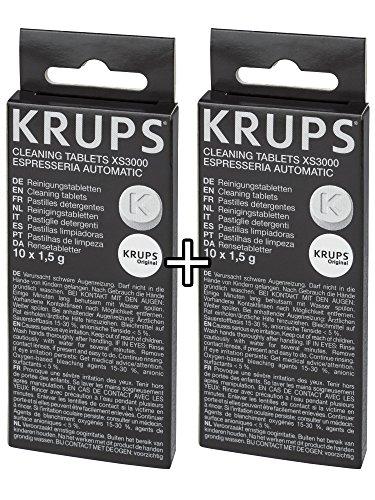 Krups Xs3000 2 Tabletki Czyszczące