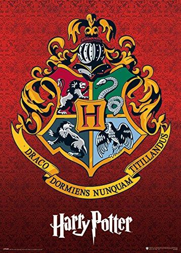 Harry Potter (Hogwarts Crest) 50 x 70 cm Poster Métallique