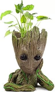 Guardianes de la maceta Galaxy Baby Groot Figuras de acción Modelo lindo Toy Pen Pot Mejores regalos de Navidad para niños