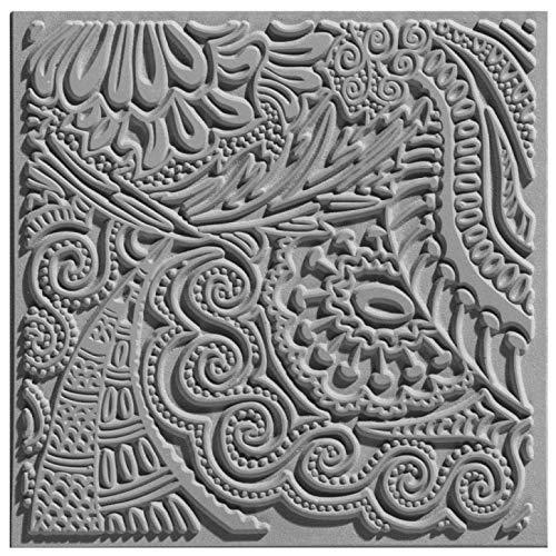 efco Texturmatte, Naturkautschuk, Grau, 9x9x0.3 cm