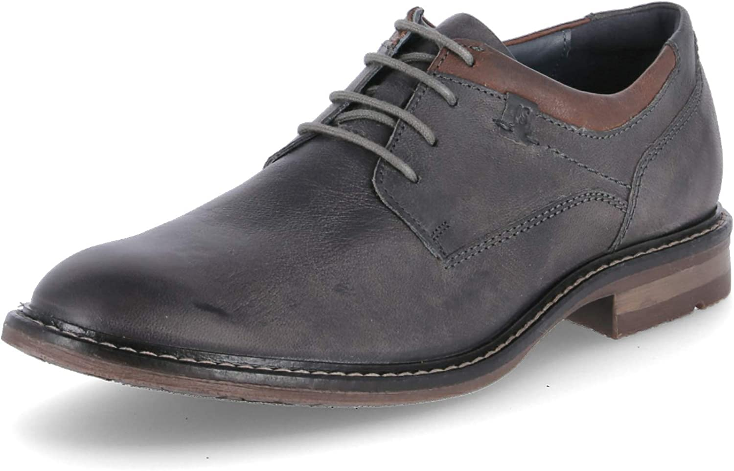 Josef Seibel Men's Earl 05 Lace Up Casual Oxford Graphit