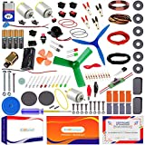 100+ high quality, reusable Items in a single kit Endless projects and innovations Exclusive projects – Drawing robot, levitating pencil, Potato battery, Hand steadiness testing game, stunt racing car, DIY DC motor, electromagnet, Lemon battery and m...