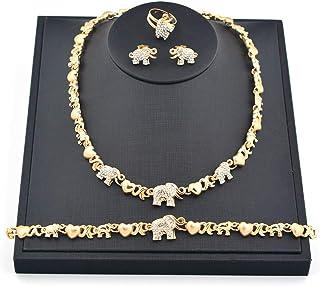 گردنبند زنانه Giffor XOXO دستبند زنانه 14K گردنبند چوکر گوشواره گوشواره دستبند حلقه دوستی
