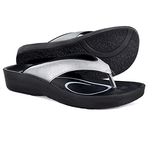 a03d662b94df07 AEROTHOTIC Original Orthotic Comfort Thong Style Sandals   Flip Flops for  Women with Arch Support for