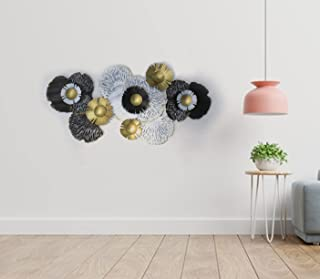 Kumar Industries Metal Wall Décor, Wall Hanging, Wall Arts for Home/Living Room/Bedroom/Hotel (Size: 51x27 Inch, Multicolo...