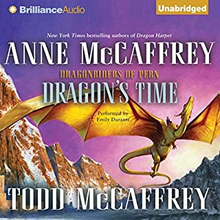 Dragon's Time audiobook cover art