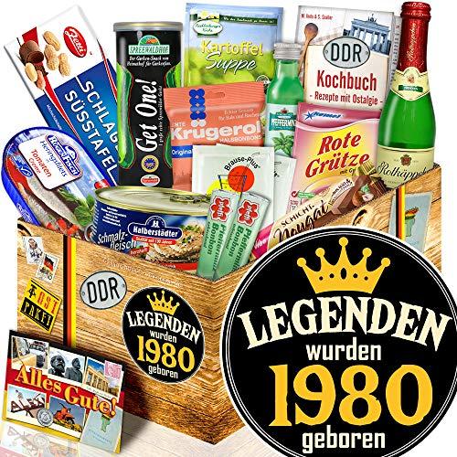 Legenden 1980 - DDR Spezialitäten-Geschenk - Geschenke Geburtstag