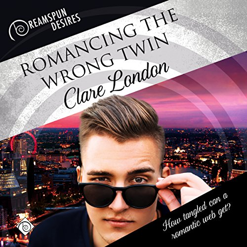 Romancing the Wrong Twin audiobook cover art