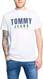 Tommy Jeans Men's Center Chest Graphic T-Shirt