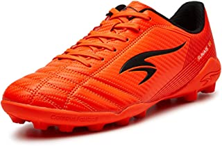 SUNAIS Kids MG Cleats Soccer Shoes Outdoor Comfortable Football Shoes(Little Kid/Big Kid)