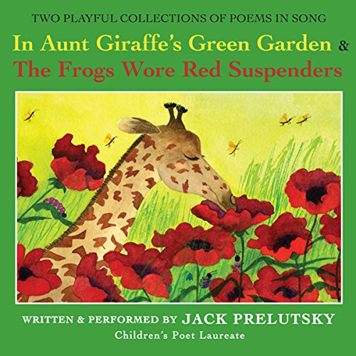 In Aunt Giraffe's Green Garden audiobook cover art