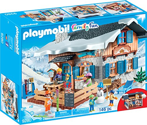 PLAYMOBIL Family Fun Cabaña de Esqu