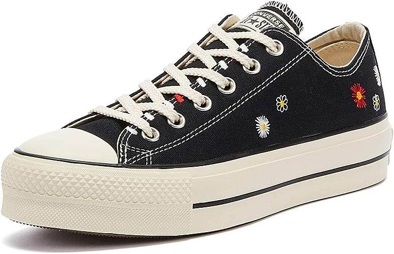 Converse All Star Lift Ox Sneakers Nero/Avorio Naturale da Donna ...