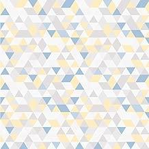 Papel de Parede Infantil Geométrico Triângulos Bobinex Uau Multicolorido