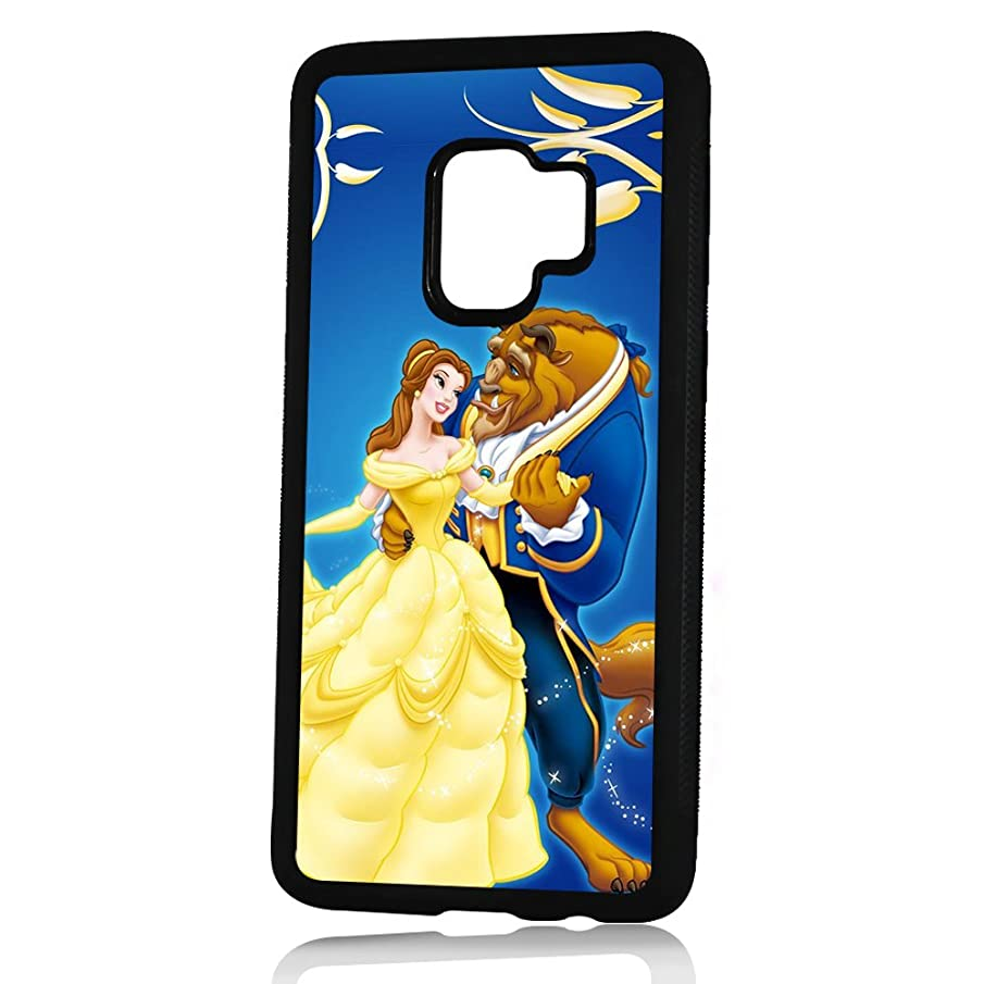 (For Samsung Galaxy S9+/S9 Plus) Durable Protective Soft Back Case Phone Cover - HOT30167 Beauty and Beast Belle