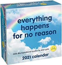 Download Unspirational 2021 Day-to-Day Calendar: everything happens for no reason PDF