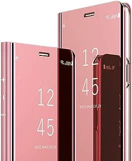 pink mirror case
