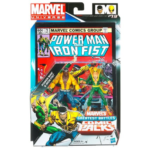 Marvel Universe Greatest Battles 2 Figure Pack: Power Man & Iron Fist by Hasbro