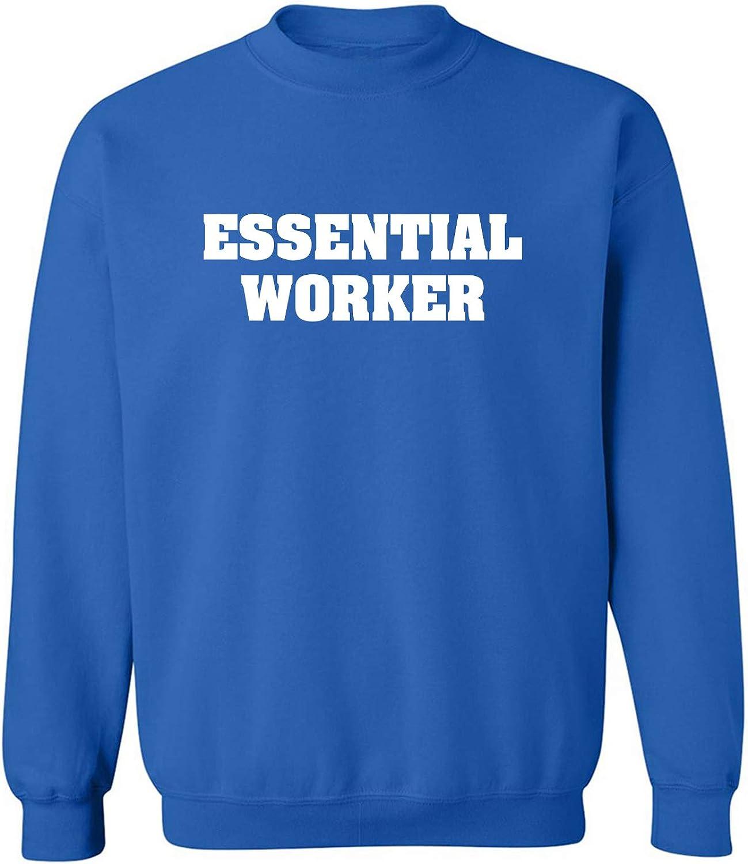 zerogravitee Essential Worker Crewneck Sweatshirt